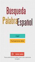 Screenshot of Búsqueda de Palabras