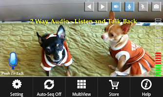 Screenshot of uFoscam: 2-way Audio & Graph
