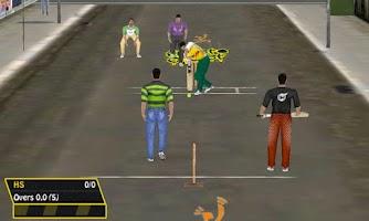 Screenshot of Street Cricket