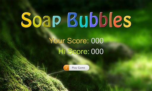 Pop Soap Bubbles