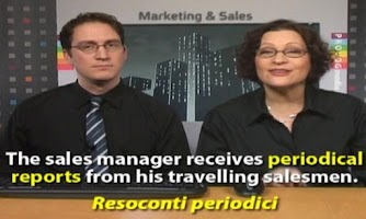 Screenshot of INGLESE COMMERCIALE Videocorso