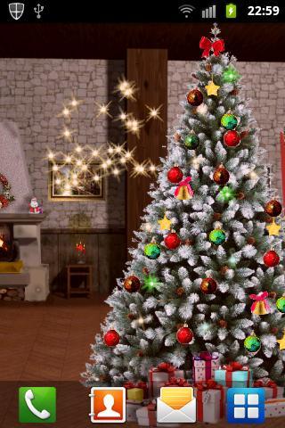 Free Pocket Christmas Tree LWP