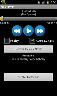 Quran MP3 With Sindhi - screenshot
