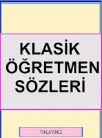 Screenshot of Klasik Öğretmen Sözleri