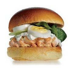 Salmon Delight Burger