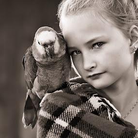 by Jane Bjerkli - Black & White Portraits & People (  )