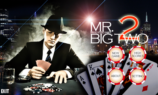 Mr. Big Two - Card game - screenshot