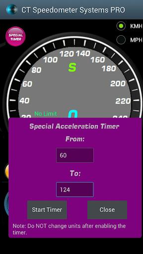 Speedometer,0-100 0-60 Timers - screenshot