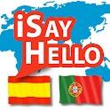 iSayHello Spanish - Portuguese icon