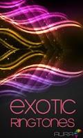 Screenshot of Exotic Ringtones