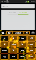 Screenshot of Blur Keyboard