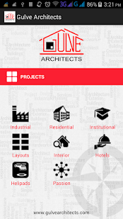 Gulve Architects - screenshot