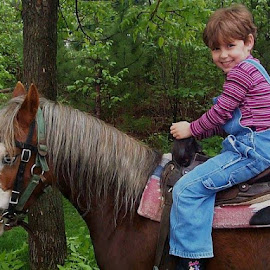 horseback by Grace Sarazin - Babies & Children Children Candids (  )