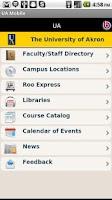 Screenshot of UA Mobile