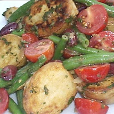 Grilled Baby New Potato Salad With French Green Beans and Mint (
