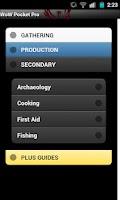 Screenshot of WoW Pocket Pro