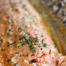 Honey Salmon in Foil