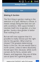 Screenshot of A Gardeners Handbook: Volume 1