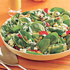 Spinach Salad with Blood Orange Vinaigrette