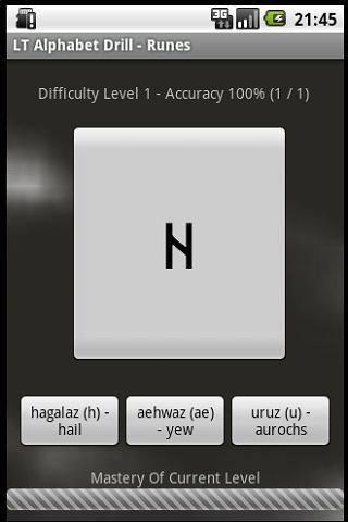 LT Alphabet Drill - Runes