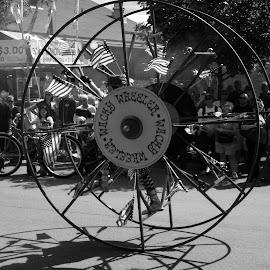 Ehrrlmobilr by Dan Dusek - Transportation Other ( parade, black and white, vehicle, transportation, state fair,  )
