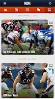 Screenshot of Chicago Bears Official App