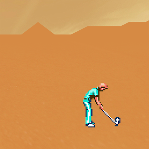 Cover art Desert Golfing