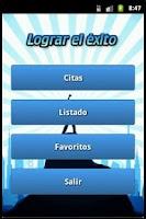 Screenshot of Lograr el éxito