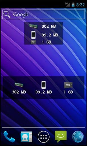 Memory Status Widget