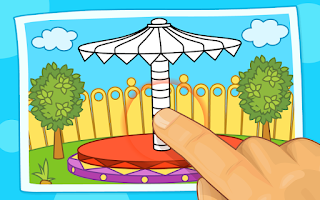 Screenshot of Kids Tap and Color (Lite)