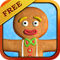 Talking Gingerbread Man Free APK for Bluestacks