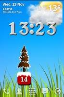 Screenshot of Christmas Battery Widget