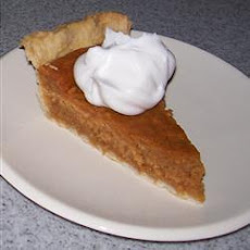 Delicious Pumpkin Pie