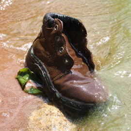 the boot by Jackie Otto - Novices Only Objects & Still Life