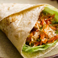 Tuna & Carrot Wrap