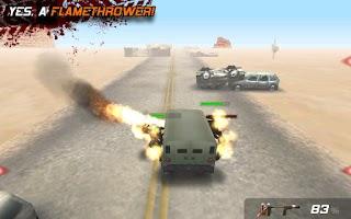 Screenshot of Zombie Highway