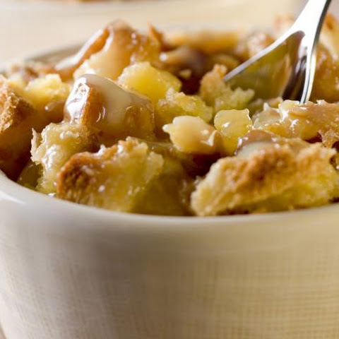 Pineapple Bread Pudding with Pecans