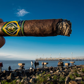 Chasing zeppelins by Christopher Gray - Artistic Objects Other Objects ( cigar, igers, cao, lake erie, cleveland )