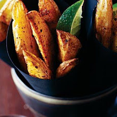 Jamaican Spiced Potato Wedges Recipe