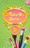 Screenshot of MakeUp Salon