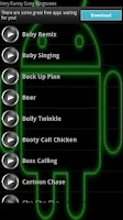 Screenshot of Very Funny Song Ringtones