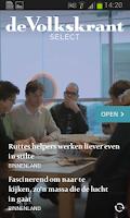 Screenshot of de Volkskrant Select