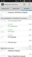 Screenshot of Magoosh Calculus Lessons