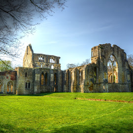 netley abbey ruin by Nick Wastie - Buildings & Architecture Public & Historical