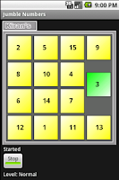 Screenshot of Jumble Numbers
