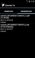 Screenshot of Convert To ...