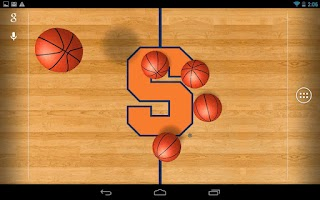 Screenshot of College Basketball LWP