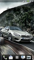 Screenshot of BMW M6 Gran Coupe Live Wallpap