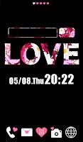 Screenshot of Cute wallpaper★LOVE flower