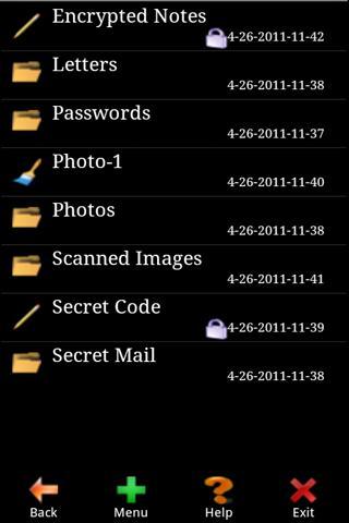 秘密ファイル